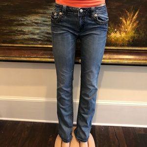 Miss me slim boot cut jeans